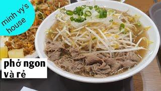 #44 quán phở ngon tại hàn - 홍대쌀국수 - sau khi ăn đi đến khu chuyên bán đồ sale