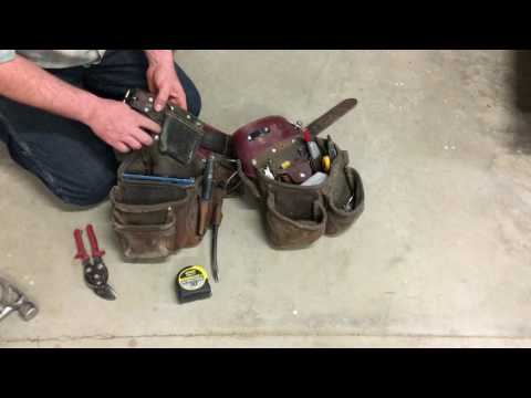 The Best Framers Tool Belt
