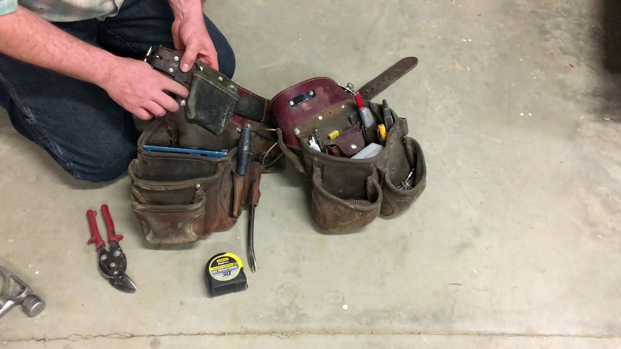 The Best Framers Tool Belt - YouTube