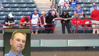 Ranger Fan Dies Trying To catch A Ball.