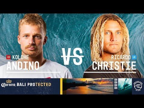 Kolohe Andino vs. Ricardo Christie - Round of 32, Heat 8 - Corona Bali Protected 2019