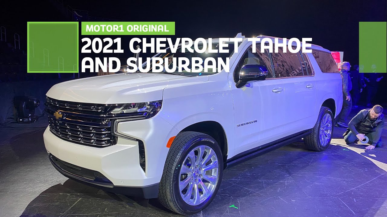 2021 Chevrolet Tahoe and Suburban: First Look - YouTube