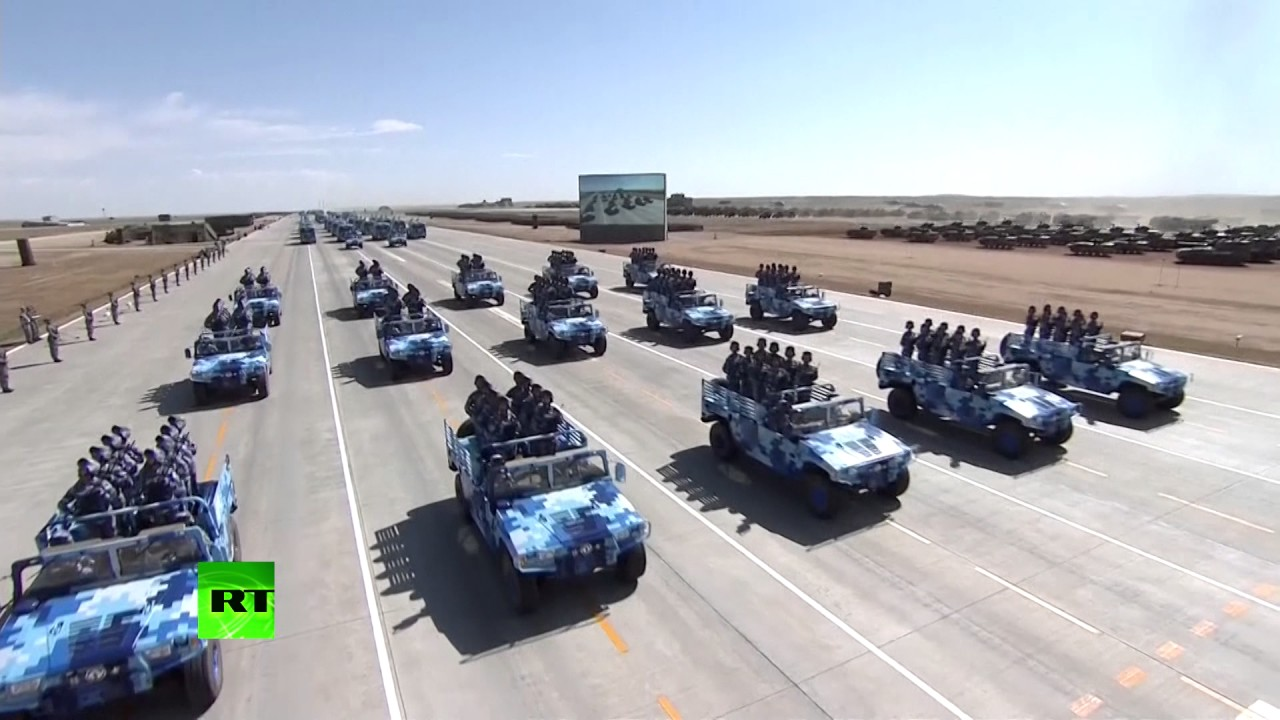 RAW: Military parade in China as PLA turns 90