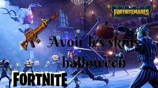 HOW TO HAVE HALLOWEEN SKINS [FORTNITE 1.8]