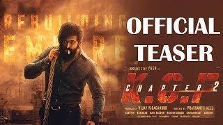 KGF 2 Official Teaser Update | Yash | Prashanth Neel