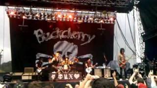 Buckcherry @ memphis in may 2011