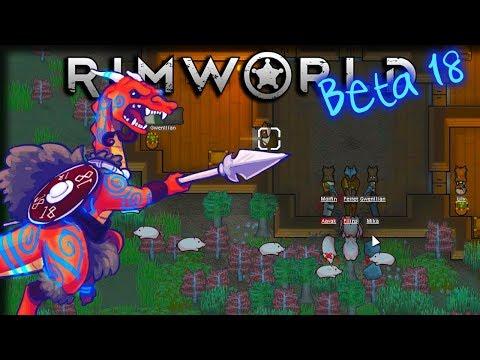 Manhunting Swine! – Rimworld [Beta 18] Extreme Tribal Gameplay – Let's Play Part 5