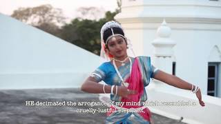 Yehovah naa mora . Bharatanatyam. With English subtitles. Hymn No. 16, Andhra Christian Hymns.