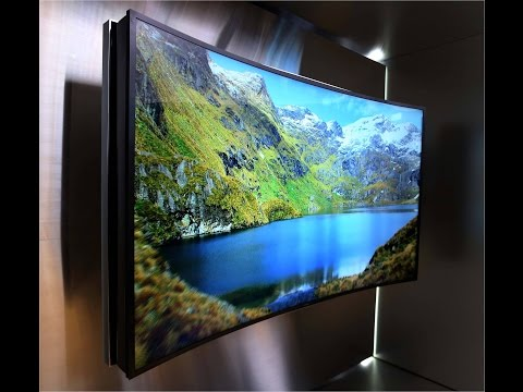 Samsung LCD Curved UHD TV [NEW] REVIEW Central 2014