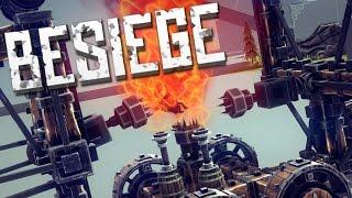 MORE TORTURE - Besiege Alpha Sandbox