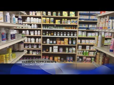Consumer Report: Harmful Supplements