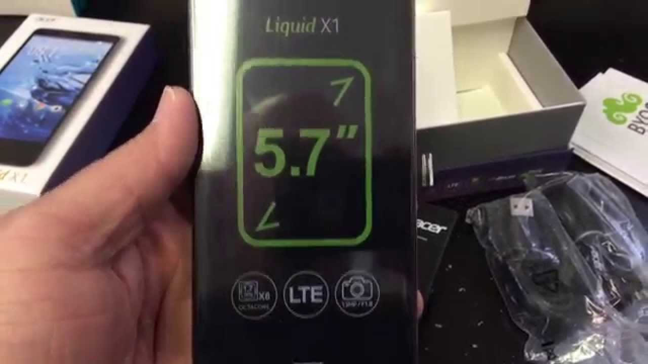 ACER LIQUID X1 S53 Unboxing Video In Stock At Welectronics