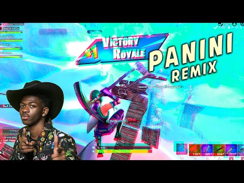 "Fortnite Montage - ""PANINI REMIX"" (Lil Nas X & DaBaby)"