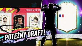 POTĘŻNY DRAFT! IKOOONA W PACZCE! | FIFA 20 JUNAJTED