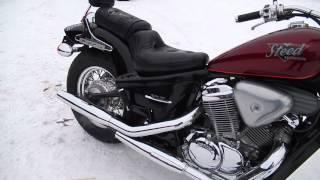 B6537 HONDA STEED 400(Отличная мототехника из Японии. Без пробега по России. http://avtobest-moto.ru/ Адрес: г.Новосибирск, ул. Северный проез..., 2015-12-28T07:12:14.000Z)