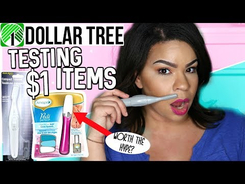 WORTH THE HUNT? Amope Pedi Perfect + $1 Compact Hair Trimmer| DOLLAR TREE GET IT OR FORGET IT!