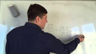 Математика 6 класс. 30 сентября. Основное свойство дроби 3