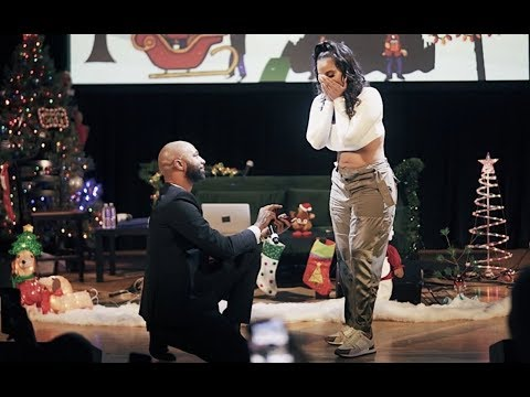 V Gomez - Joe Budden Proposes To Cyn Santana! (Watch)