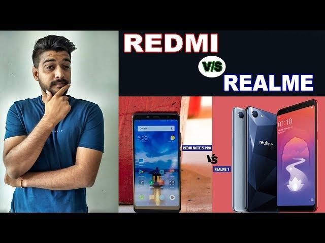 Realme 1 vs Redmi Note 5 Pro - Killer Kon??