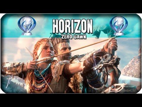 ¡Trofeo Platino de HORIZON ZERO DAWN!