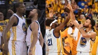Damian Lillard, CJ McCollum Combine for 75 Points vs Warriors! Game 1