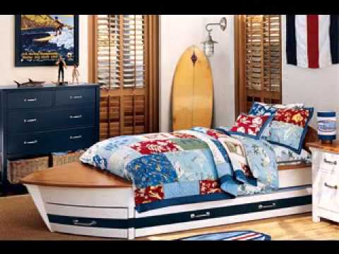 Beau Surfer Bedroom Decorating Ideas
