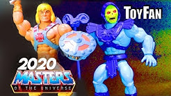 Masters of the Universe: Origins UP-CLOSE LOOK 2020 MODERN/RETRO HE-MAN TOYS