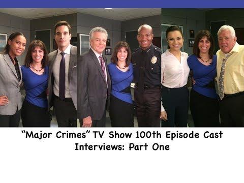 """MAJOR CRIMES"" TV Show Interviews (Pt 1): Tony Denison, Leonard Roberts, GW Bailey & More"