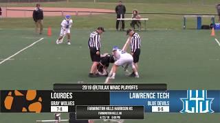 Gambar cover MLAX | LTU vs Lourdes (4/23/19) | Full Game