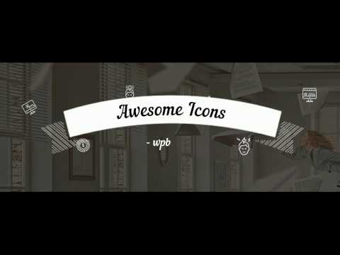 Awesome Icons - insert and customize icon in post, page and menu