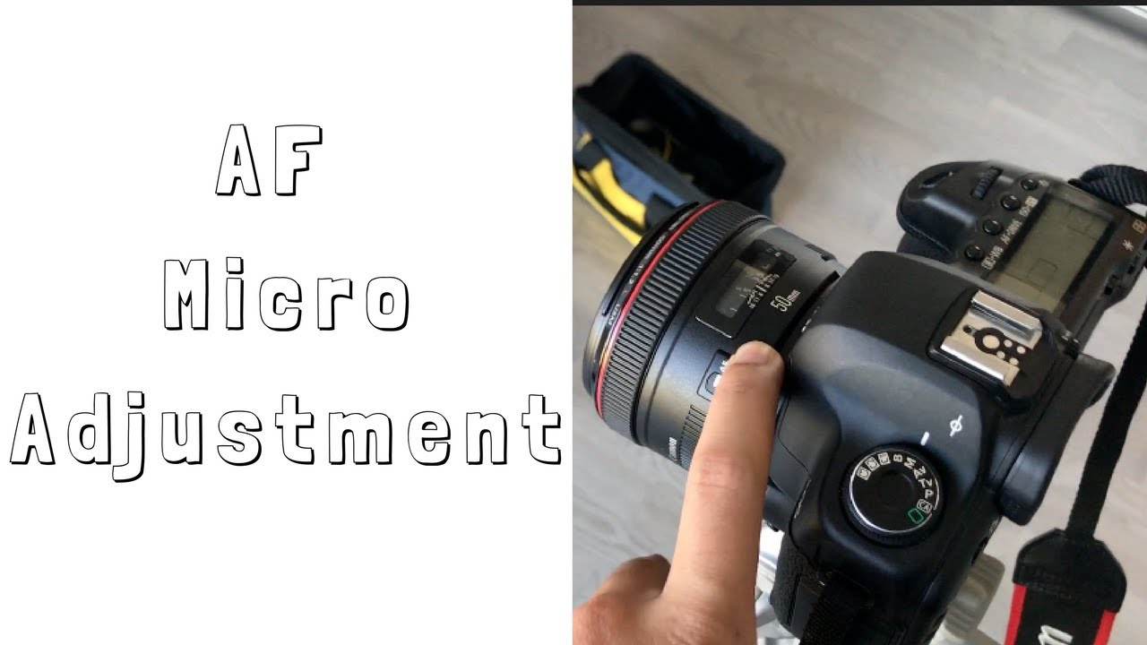 LENS CALIBRATION | AF MICROADJUSTMENT | CANON 5D MARK II | CANON 50MM 1 2