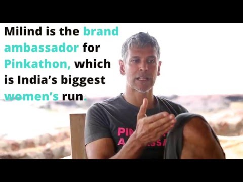 Milind Soman on technology in his daily life