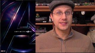 Avengers: Infinity War Trailer - A Rambling Geek's Thoughts