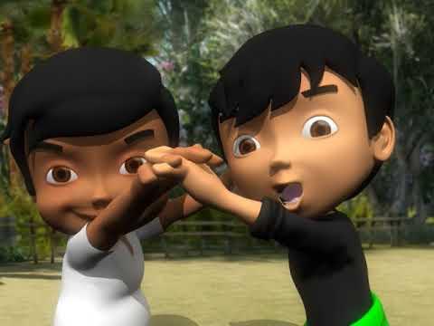 """Permainan Tradisional Anak Betawi """"Wak-Wak Gong"""""""