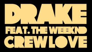 Drake - Crew Love (Clean) featuring The Weeknd