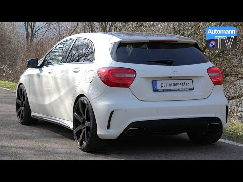 Performmaster A45 AMG (410hp) - DRIVE & SOUND (60FPS)