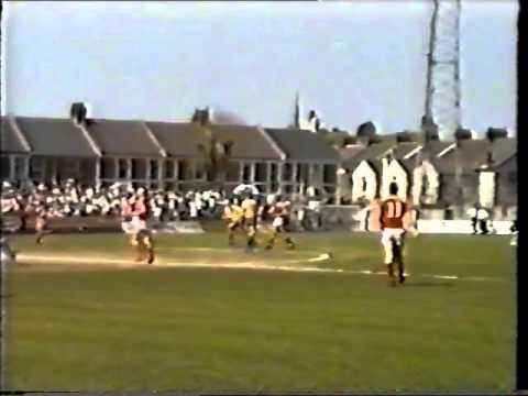 torquay united v crewe alex  may 1987