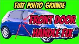 fiat punto grande front door lock fix