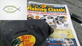 Huge Bass Pro Shops Unboxing from the Spring Fishing Classic Sale, with Z man, Stike King and more