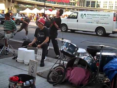 Toronto Street Drummers