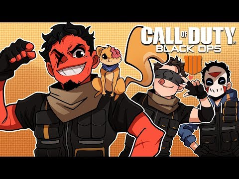 OUR FIRST WIN! | Blackout - Call of Duty: Black Ops 4 (w/ H2O Delirious, Ohmwrecker, & Squirrel)
