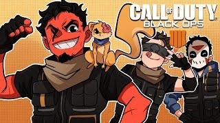 OUR FIRST WIN!   Blackout - Call of Duty: Black Ops 4 (w/ H2O Delirious, Ohmwrecker, & Squirrel)