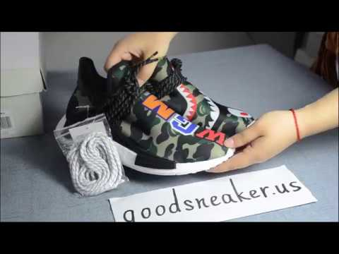 competitive price ca91f e5ef7 New!!! ADIDAS human race X BAPE from www.goodsneaker.us