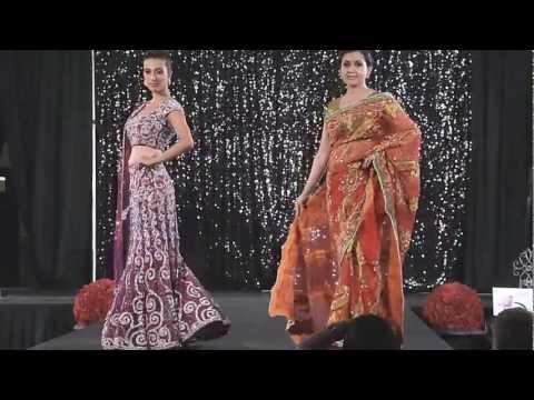 Beautiful!! SARI & QIPAO Bridal Fashion @ Grand Wedding Show 2012