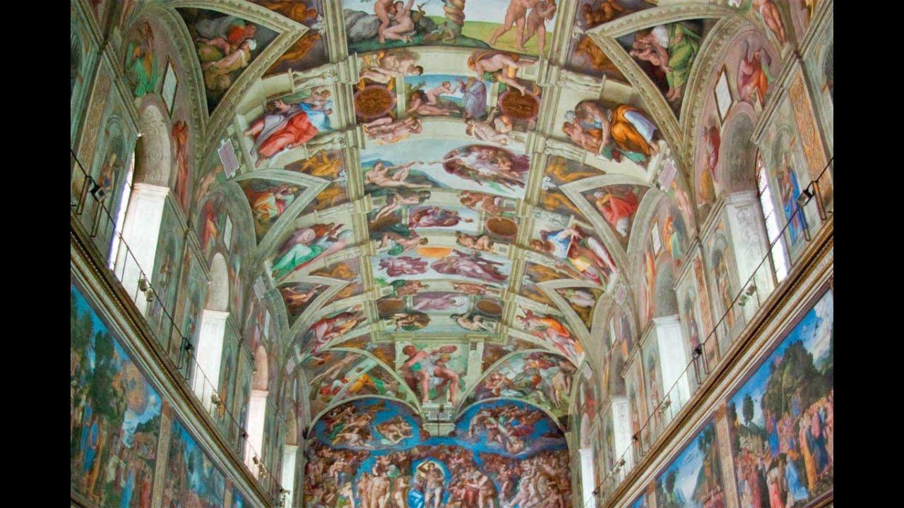 Soffitto A Volta Affrescato : Gli affreschi della volta del soffitto della chiesa di