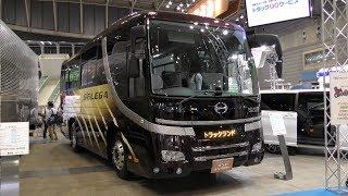 【4K動画】大型バス(運転席)内装(平成30年式)日野セレガ(2018年型)大型観光バス