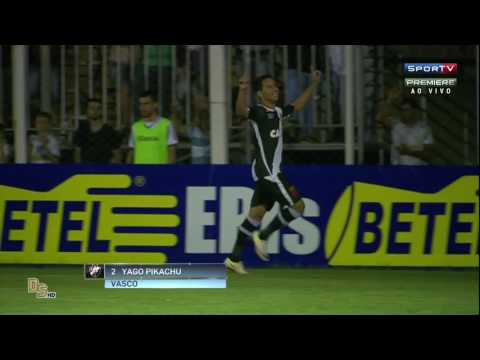 Gols - Luverdense 1 x 1 Vasco - Brasileirão 2016 Série B
