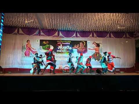 Koli dance performance Shivmudra dance academy uran t.h.wajekar funde first prize satara
