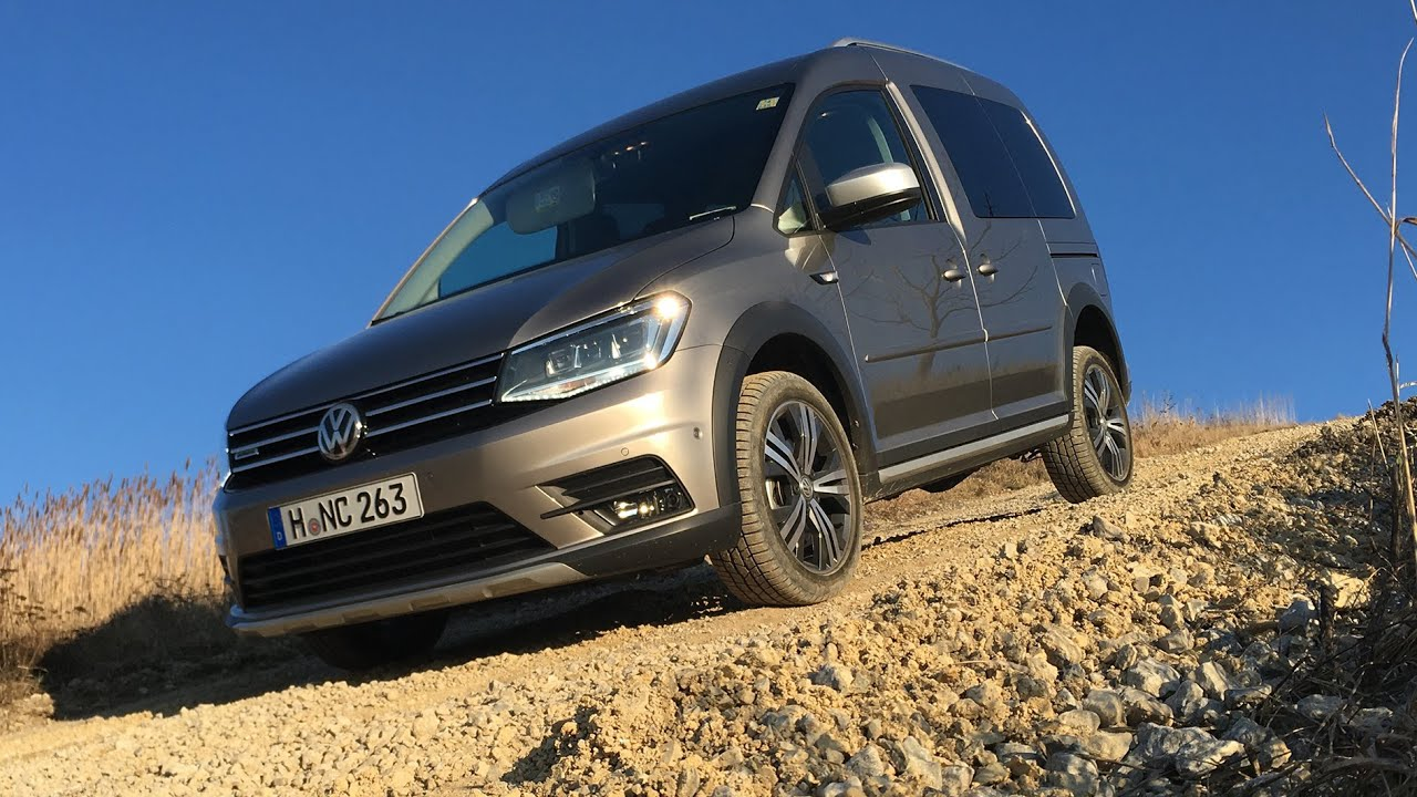 footage vw caddy alltrack 2016 vienna on location 02 2016 atmo youtube. Black Bedroom Furniture Sets. Home Design Ideas