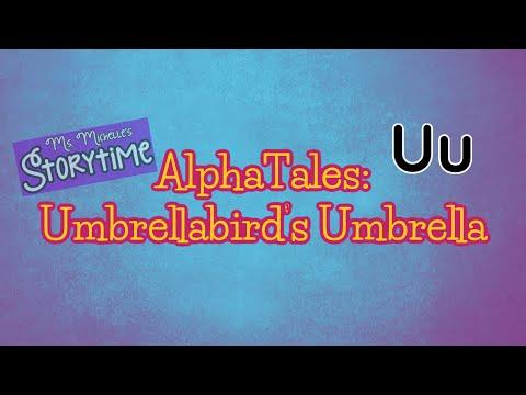 AlphaTales Umbrellabird's Umbrella